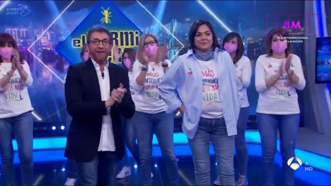 Pablo Motos y la Asociación de Cáncer de Mama Metastásico.