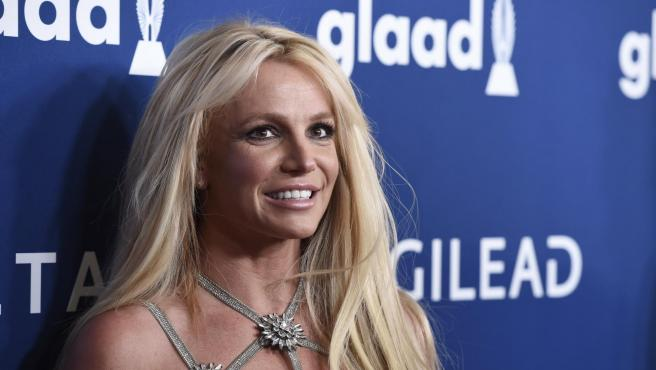 Singer Britney Spears en la gala GLAAD Media Awards.