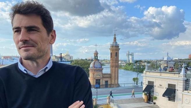 Casillas, en Sevilla