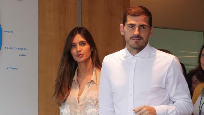 La periodista Sara Carbonero y el exportero Iker Casillas, en una imagen de 2019.
