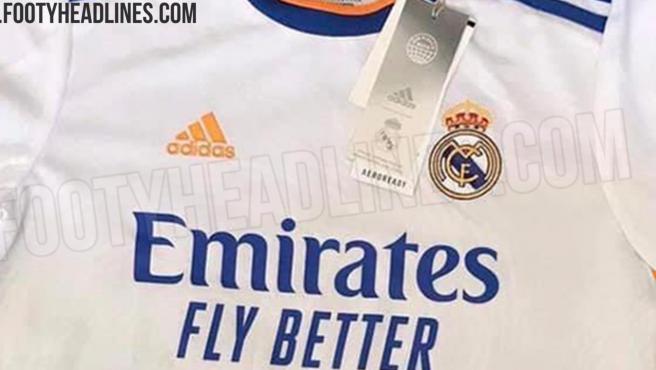 Camiseta filtrada del Real Madrid para la temporada 21/22