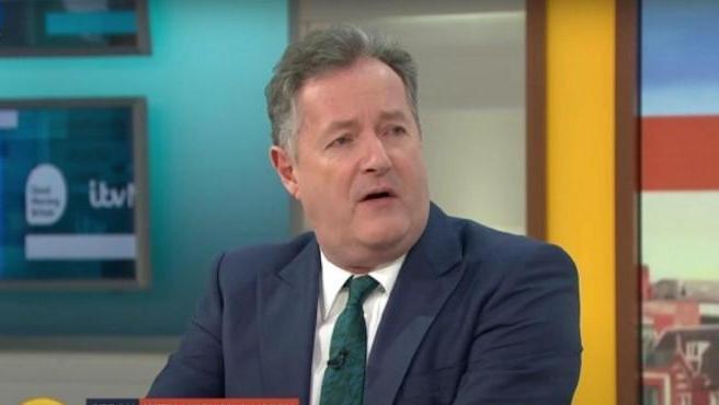 El presentador Piers Morgan.