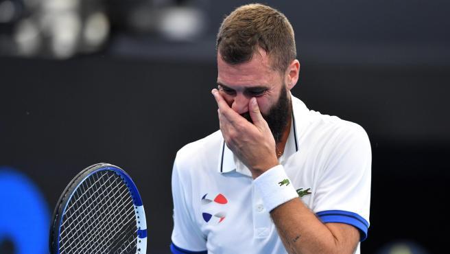 El tenista francés Benoit Paire