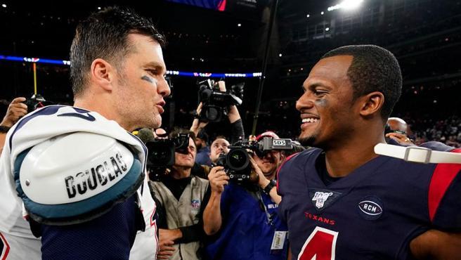 Tom Brady y Deshaun Watson