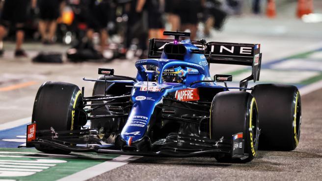 Fernando Alonso, en el GP de Bahréin