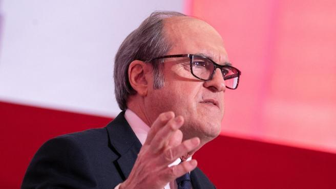 El candidato del PSOE a la Presidencia de la Comunidad de Madrid, Ángel Gabilondo.