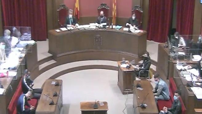 Visto para sentencia el juicio a 'la manada de Sabadell'