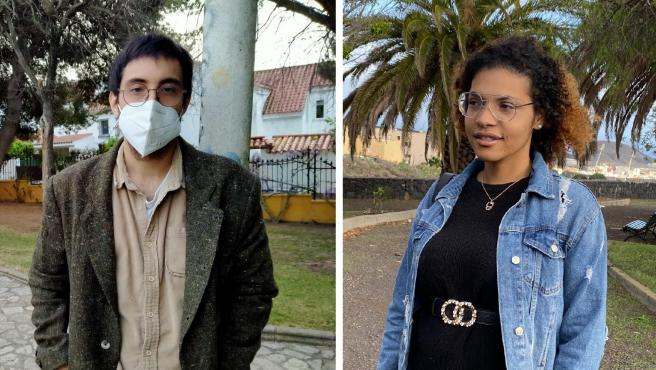 JC Avecilla e Ingrid Jabbie, dos jóvenes de 27 y 25 años.