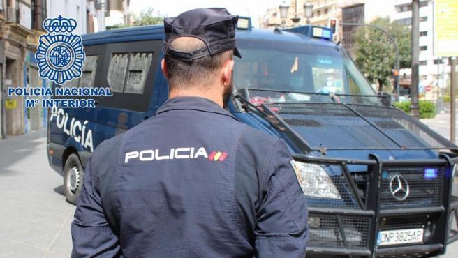 Agente de la Policía Nacional en una imagen de archivo.
