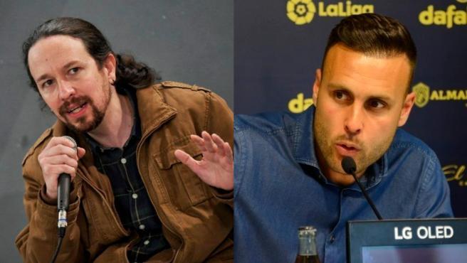 Pablo Iglesias y Juan Cala