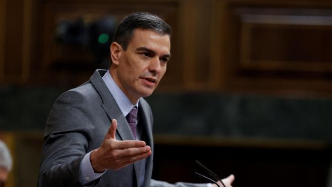 Pedro Sánchez comparece en el Congreso este miércoles.