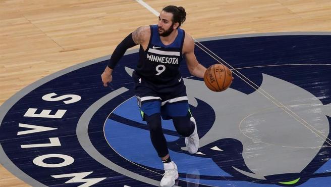 Ricky Rubio, jugador de los Minnesota Timberwolves.