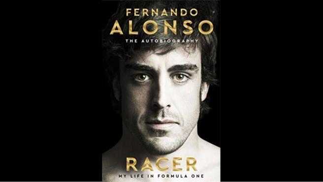 Portada inicial de la autobiografía de Fernando Alonso