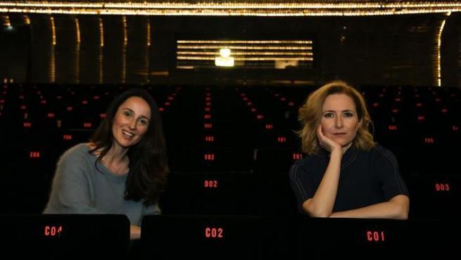 Marisa Fernández Armenteros y María del Puy