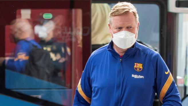 Ronald Koeman, entrenador del FC Barcelona