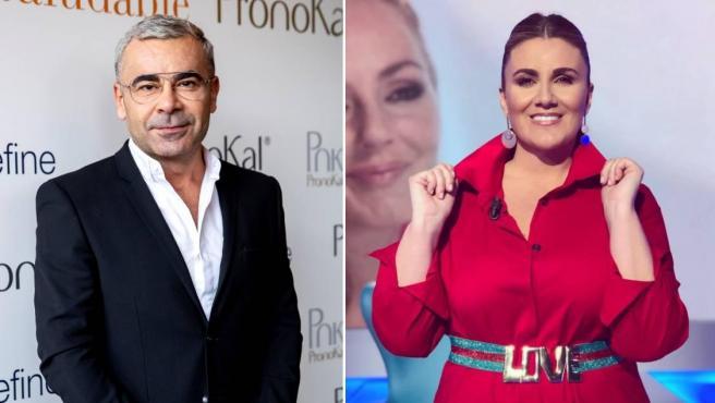 Los presentadores de Telecinco Jorge Javier Vázquez y Carlota Corredera.