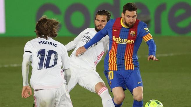 Un momento del último Madrid - Barça, dos de los clubes que apoyan la nueva Superliga.