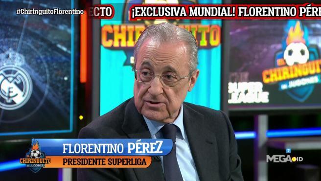 Florentino Pérez, en El Chiringuito