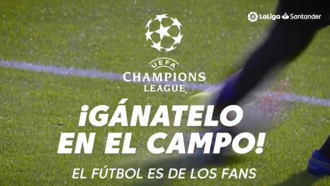 """""""Gánatelo en el campo"""", el lema de la campaña de la UEFA para protestar contra la Superliga"""