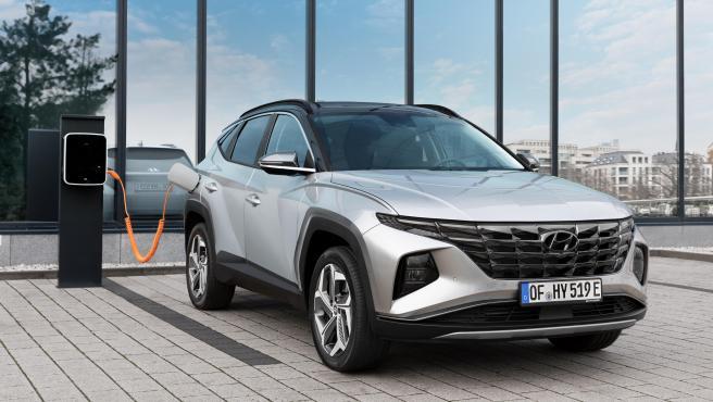 Hyundai Tucson PHEV.