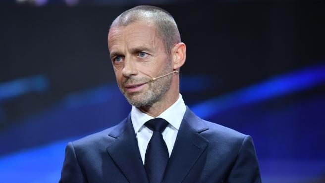 Aleksander Ceferin, UEFA President