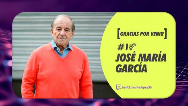 José María García, en el canal de Twitch de Siro López.