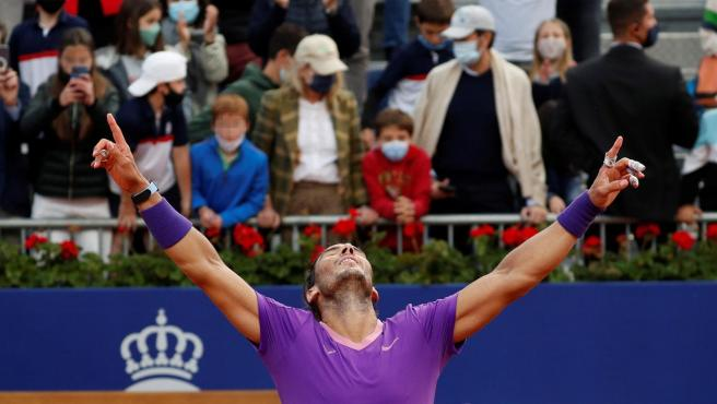 Rafa Nadal gana su 12º Conde de Godó.