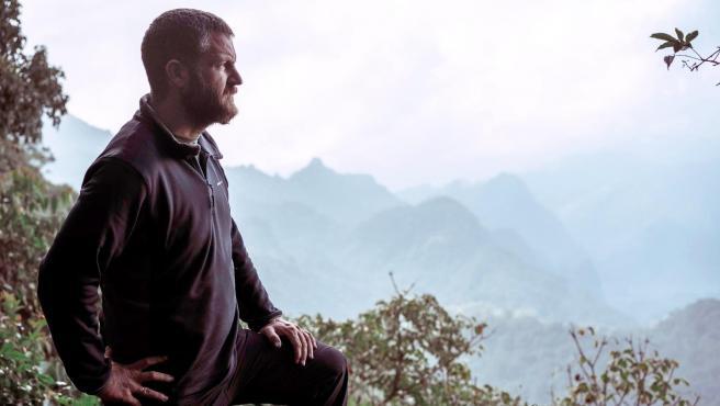 David Beriain, en la serie documental 'Clandestino'.