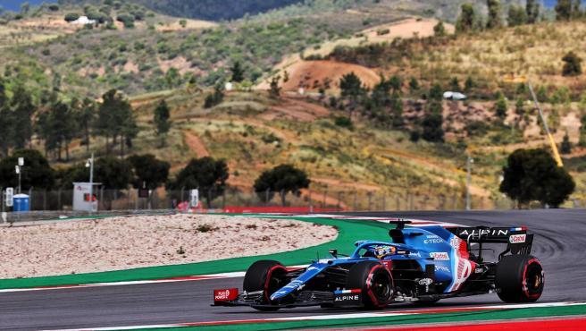 Fernando Alonso, en el GP de Portugal