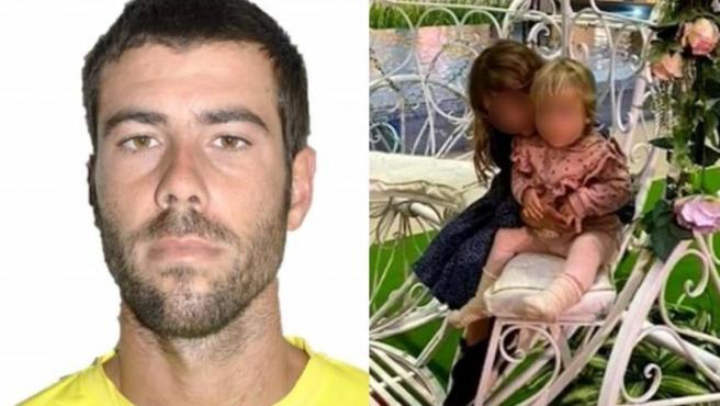Tomás Antonio Giméno y sus dos hijas, Anna y Olivia, desaparecidos en Tenerife.