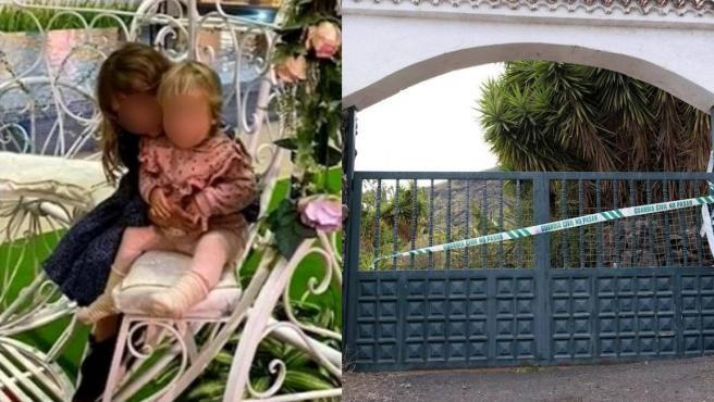 Anna de un año y Olivia de seis desaparecieron en Tenerife con su padre, cuya finca en Candelaria (en la foto) ha sido registrada por la Guardia Civil.