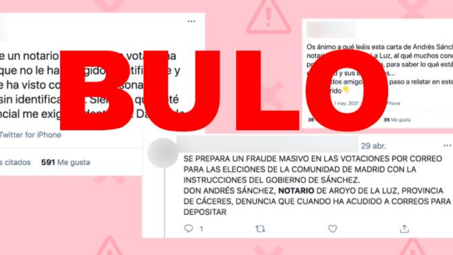 Cuidado con los bulos sobre el voto por correo en las elecciones del 4-M en Madrid