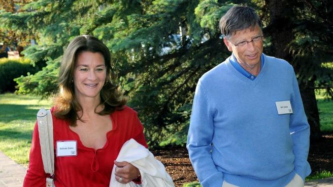 Bill Gates y Melinda Gates, en Sun Valley, Idaho (EE. UU.), En 2009.