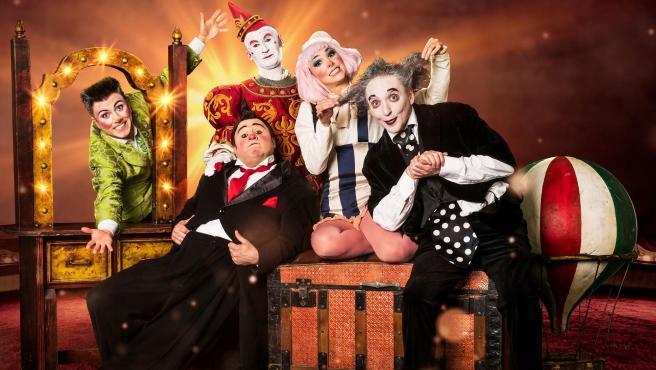 Los cinco protagonistas de 'Clowns'.
