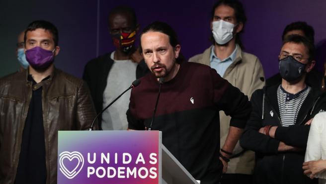 El hasta este martes líder de Podemos, Pablo Iglesias.