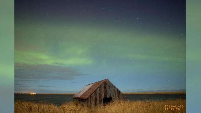 Una mayor densidad de átomos de oxígeno explica un nuevo tipo de aurora boreal llamada 'dunas'