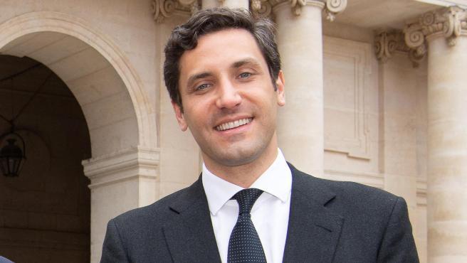 Jean de Orleans y Jean-Christophe Napoleón, en mayo de 2021.