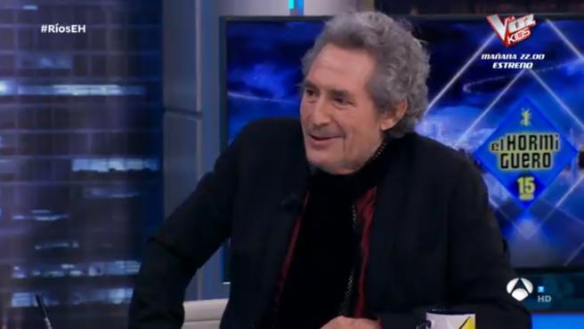 Miguel Ríos, en 'El hormiguero'.