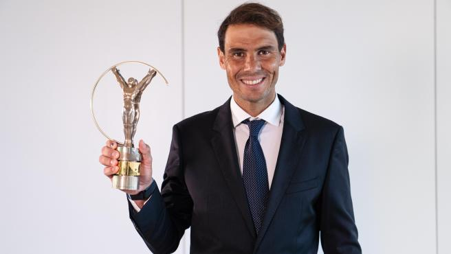 Rafa Nadal, premio Laureus al 'Mejor deportista masculino del año'