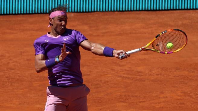 Rafa Nadal, en el Mutua Madrid Open