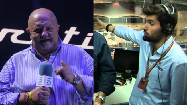 Gonzalo Serrano and Jaime Alguersuari