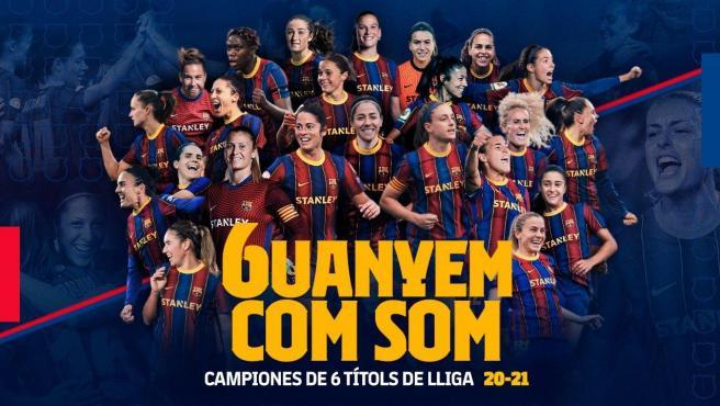 La mujer del Barça conquista la Liga.