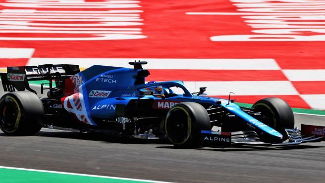 Fernando Alonso, in the Spanish GP of Formula 1