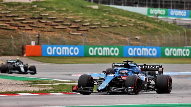Fernando Alonso at the Spanish GP