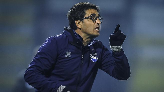 Gianluca Grassadonia, técnico del Pescara