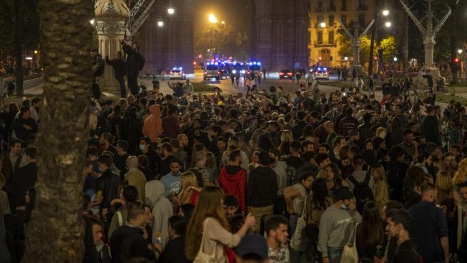 Primera noche en Barcelona sin estado de alarma