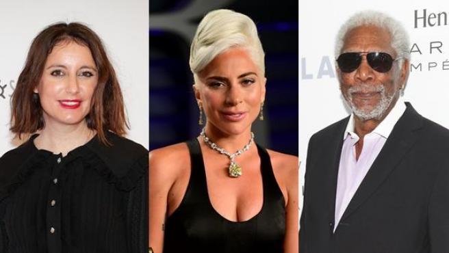 Andrea Levy, Lady Gaga y Morgan Freeman.
