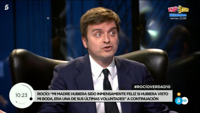 Marc Giró, en 'Rocío, contar la verd.ad para seguir viva'.