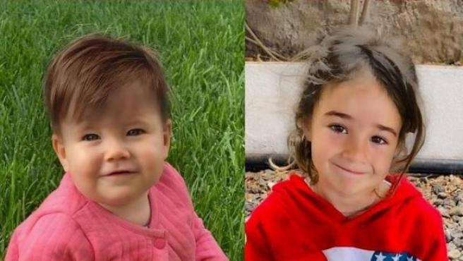 Anna y Olivia, en una imagen retocada con su posible aspecto actual.