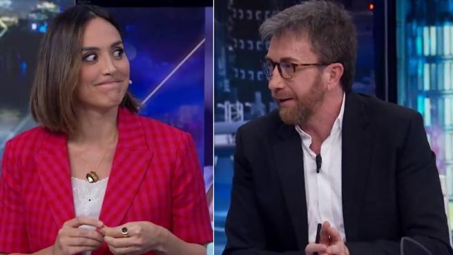 Tamara Falcó y Pablo Motos protagonizaron un momento incómodo en 'El Hormiguero'.